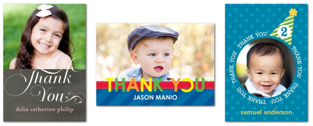 Tiny Prints Thank You Cards